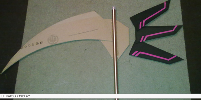 tutorial cosplay guadaña