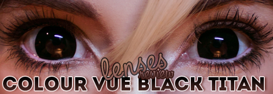review lentillas u colourvue black titan